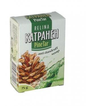 РЕЛИНА КАТРАНЕН САПУН 75 гр.