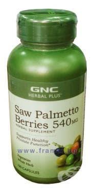 Изображение към продукта САО ПАЛМЕТО капсули 540 мг. * 100 GNC