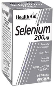 Изображение към продукта СЕЛЕН таблетки 200 мкг * 60 ХЕЛТ ЕЙД
