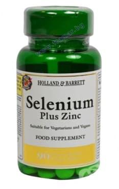 Изображение към продукта СЕЛЕН + ЦИНК таблетки * 90 HOLLAND & BARRETT