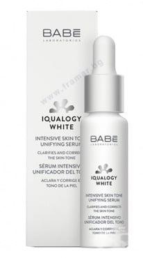 Изображение към продукта БАБЕ IQUALOGY WHITE ИНТЕНЗИВЕН СЕРУМ 30 мл