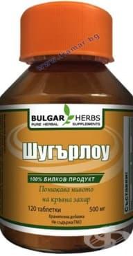 БУЛГАР ХЕРБС ШУГЪРЛОУ таблетки * 120 - изображение