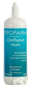 Изображение към продукта ПРОРАЙМ СРЕБЪРНА ВОДА 330 мл