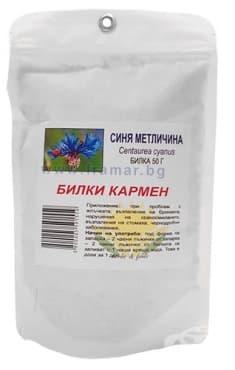 Изображение към продукта СИНЯ МЕТЛИЧИНА ЦВЯТ 50 гр. КАРМЕН