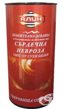 Изображение към продукта АЛИН ЧАЙ ПРИ СЪРДЕЧНА НЕВРОЗА 100
