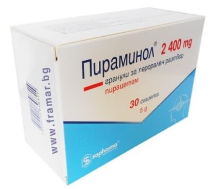 ПИРАМИНОЛ саше 2400 мг. * 30 - изображение