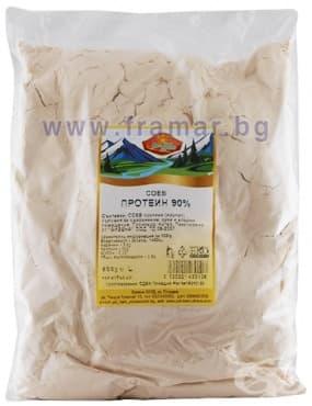 Изображение към продукта СОЕВ ИЗОЛАТ ПРОТЕИН 90% 500 гр.