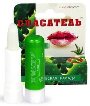 Изображение към продукта СПАСАТЕЛЬ балсам за устни с алое вера 4 гр.