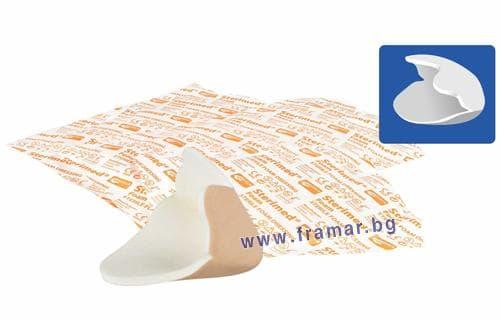 Изображение към продукта СТЕРИМЕД ПЕТА превръзка 13 см. / 12 см. * 1
