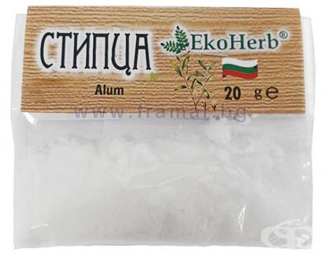 Изображение към продукта СТИПЦА НА КРИСТАЛИ 20 г ЕКОХЕРБ