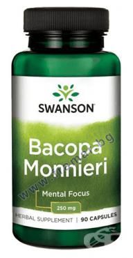 СУОНСЪН ЕКСТРАКТ ОТ БАКОПА МОНИЕРИ капсули 250 мг. * 90 - изображение