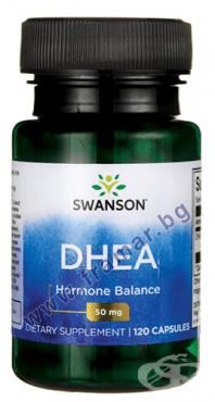 Изображение към продукта СУОНСЪН DHEA капсули 50 мг. * 120