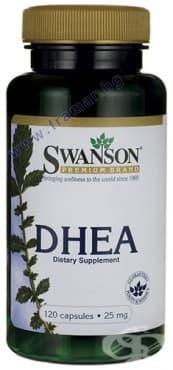 СУОНСЪН DHEA капсули 25 мг. * 120 - изображение