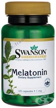 СУОНСЪН МЕЛАТОНИН капсули 1 мг. * 120 - изображение