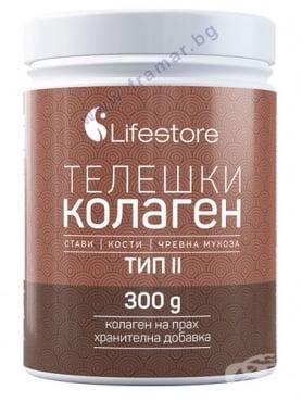 Изображение към продукта ЛАЙФСТОР ТЕЛЕШКИ КОЛАГЕН ТИП II 300 гр.