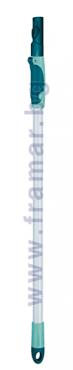 ЛЕЙФХЕЙТ РЕГУЛИРУЕМА ТЕЛЕСКОПИЧНА ДРЪЖКА ИЗИ-КЛИК 75 - 135 см. 56673 - изображение