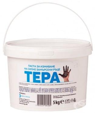 Изображение към продукта ТЕРА ПАСТА ЗА ИЗМИВАНЕ НА СИЛНО ЗАМЪРСЕНИ РЪЦЕ 5 кг