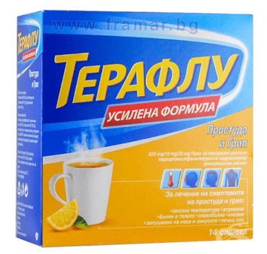 ТЕРАФЛУ ЕКСТРА саше * 14 - изображение