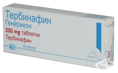ТЕРБИНАФИН табл. 250 мг. * 28 - изображение