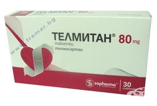 Изображение към продукта ТЕЛМИТАН табл. 80 мг. * 30