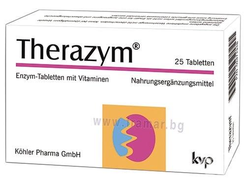Изображение към продукта ТЕРАЗИМ таблетки * 25 КЬОЛЕР ФАРМА