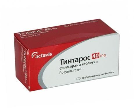 ТИНТАРОС табл. 40 мг. * 28 - изображение