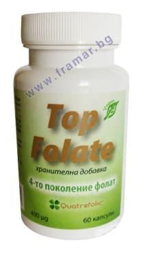 ТОП ФОЛАТ капсули 0.400 мг. * 60 - изображение