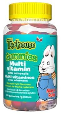 Изображение към продукта МУЛТИВИТАМИНИ И МИНЕРАЛИ ЗА ДЕЦА желирани таблетки * 60 УЕБЪР НАТУРАЛС
