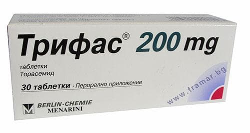 Изображение към продукта ТРИФАС табл. 200 мг. * 30