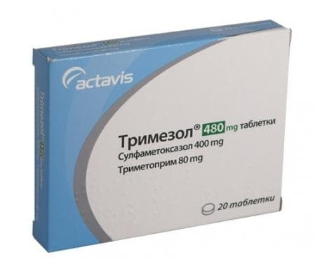 ТРИМЕЗОЛ табл. 480 мг. * 20 - изображение