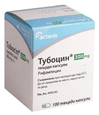 ТУБОЦИН капс. 300 мг. * 100 - изображение