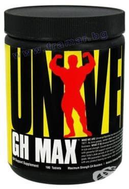 Изображение към продукта УНИВЕРСАЛ НУТРИШЪН GH MAX табл. * 180