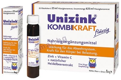 Изображение към продукта ЮНИЦИНК КОМБИКРАФТ флакон 25 мл * 25 КЬОЛЕР ФАРМА