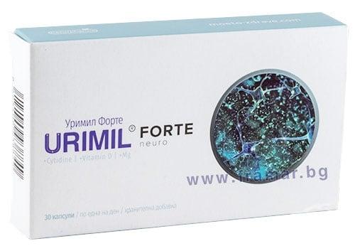 Изображение към продукта УРИМИЛ ФОРТЕ капсули * 30 НАТУРФАРМА