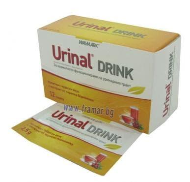 Изображение към продукта УРИНАЛ ДРИНК - 12 прахчета ВАЛМАРК