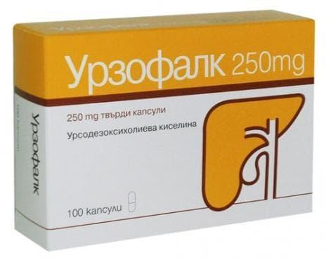Изображение към продукта УРЗОФАЛК капсули 250 мг * 100
