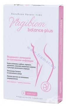 Изображение към продукта ВАГИБИОМ БАЛАНС ПЛЮС вагинални капсули * 6