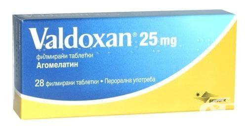 ВАЛДОКСАН табл. 25 мг. * 28 - изображение