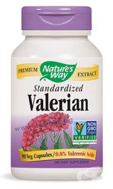 Изображение към продукта ВАЛЕРИАНА капсули 525 мг * 90 NATURE'S WAY