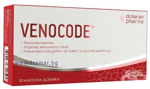 Изображение към продукта ВЕНОКОД таблетки * 90 ДОЛЕРАН ФАРМА