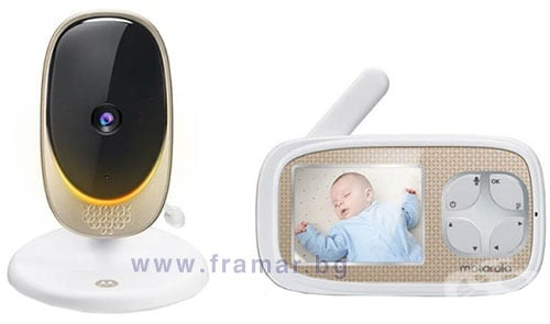 Изображение към продукта МОТОРОЛА ВИДЕО БЕБЕФОН COMFORT 40 CONNECT