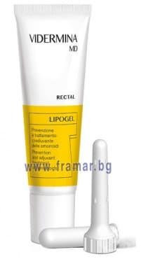 Изображение към продукта ВИДЕРМИНА MD РЕКТАЛ липогел 30 мл.