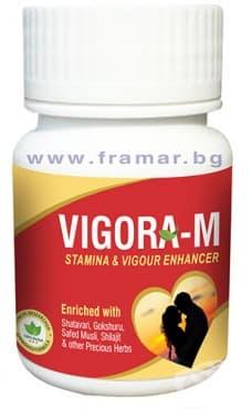 Изображение към продукта ВИГОРА М капсули * 40 DEEP AYURVEDA