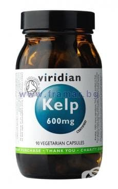 Изображение към продукта КЕЛП ОРГАНИЧЕН капсули 600 мг * 90 VIRIDIAN