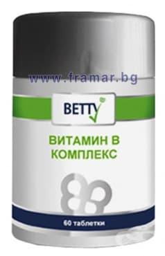 ВИТАМИН В КОМПЛЕКС таблетки * 60 БЕТИ - изображение