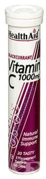 Изображение към продукта ВИТАМИН Ц С ВКУС НА КАСИС ефервесцентни таблетки * 20 ХЕЛТ ЕЙД