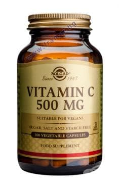 Изображение към продукта СОЛГАР ВИТАМИН C капсули 500 мг * 100