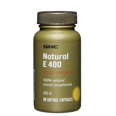 ВИТАМИН Е капс. 400 мг. * 90 GNC  - изображение