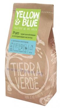 Изображение към продукта ТИЕРА ВЕРДЕ ЕКО КИСЛОРОДНА БЕЛИНА PUER ПРАХ ЗА ИЗБЕЛВАНЕ И ПРЕМАХВАНЕ НА ПЕТНА С АКТИВЕН КИСЛОРОД1 кг I 6071