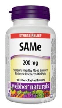Изображение към продукта САМ - Е таблетки 200 мг * 30 УЕБЪР НАТУРАЛС